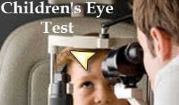 Child's Eye test Video