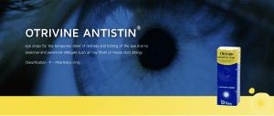 Otrivine Antistin eye drops